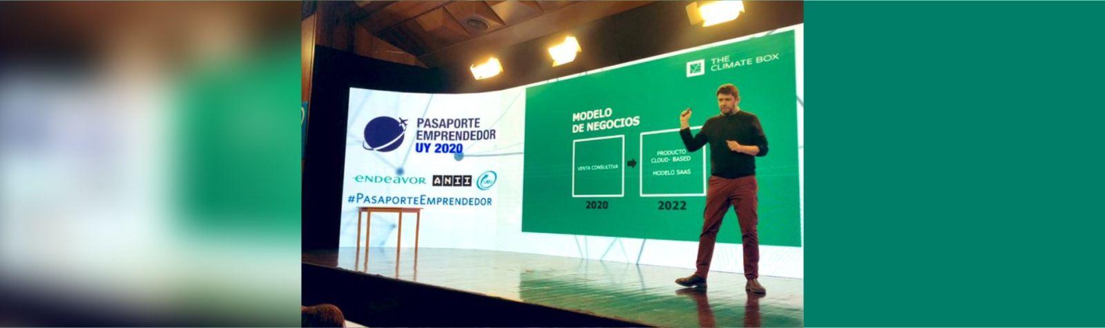 TCB Entrepreneur Passport 2020 finalist